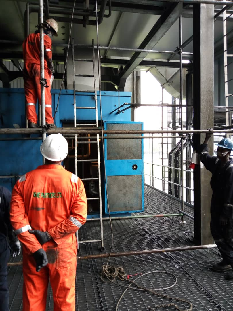 On site worker Inspection